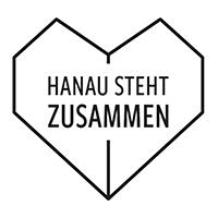 #hanaustehtzusammen Logo